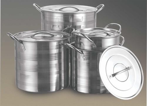 stock pot silver