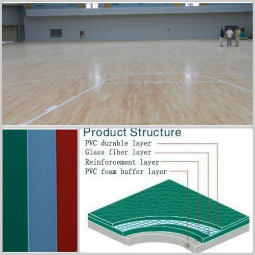 Basketball PVC Flooring