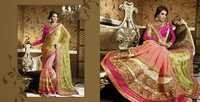 Light Pink Stylish Saree