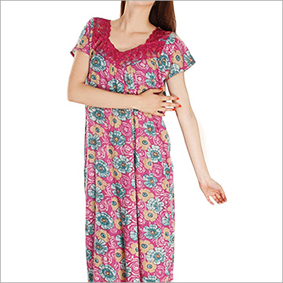 Ladies Long Cotton Nighties