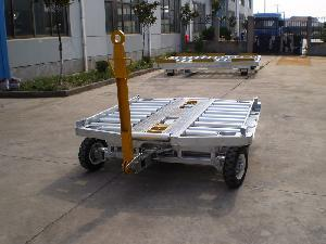 Galvanized Steel Single Way Container Dolly