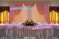 Wedding Lighted Head Table Backdrop