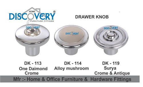 Steel  Drawer Knob