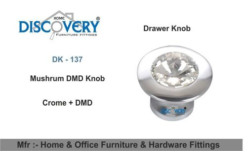Crystal Drawer Pull Knob