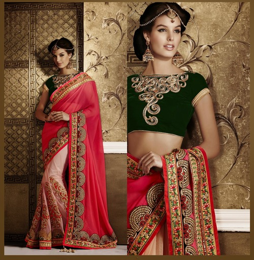 Western Stylish Designer Saree