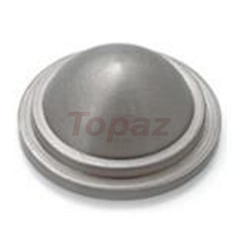 Brass Dome Mirror Button