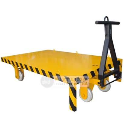 Easy To Operate Platform Truck With Blockwheels