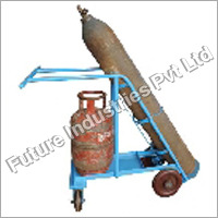 Hydraulic Double Cylinder Trolley