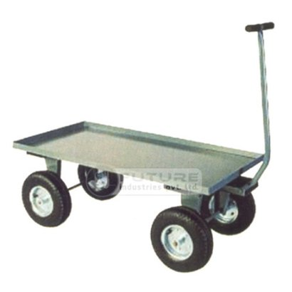 Strong Platform Truck With Scooter Wheels