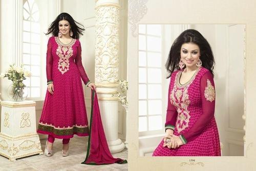 Georgette Printed Salwar Suit