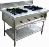 2 Burner Gas Cooking Range