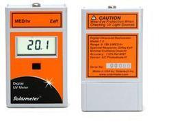 MED/HR Erythemally Effective (Eeff) UVR Index Meter