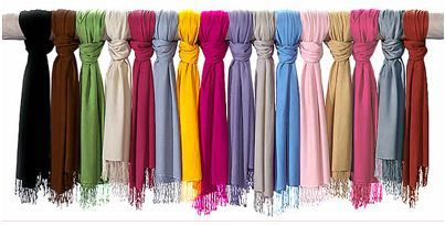 Pashmina Viscose Silk Scarves