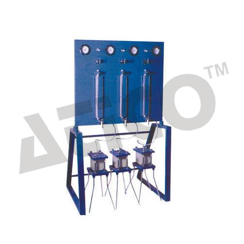 Concrete Permeability Apparatus Three Cell