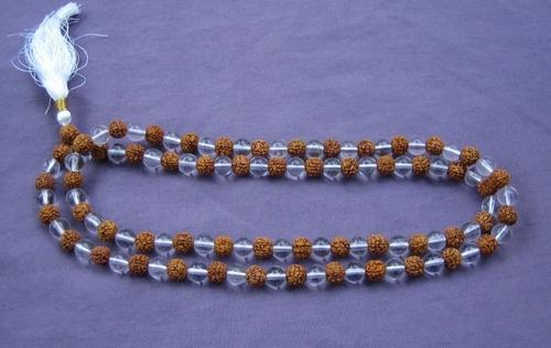 Sphatik (crystal) Mala