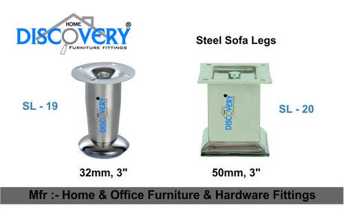 Silver Sofa Legs