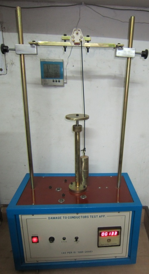 Damage to conductor test