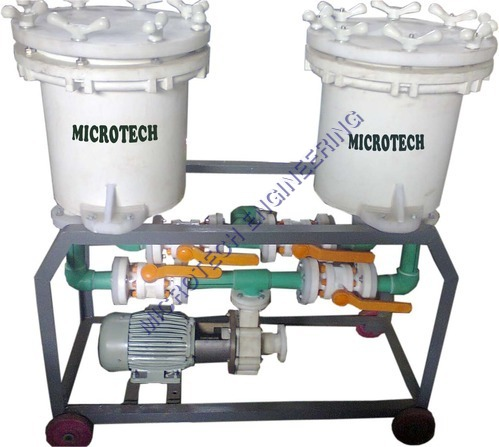 Filter Unit For Bright Nickel Solution