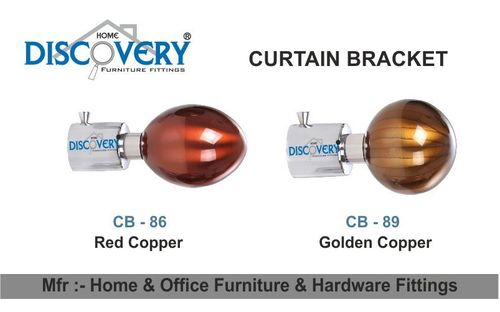 Red Copper Cartain Bracket