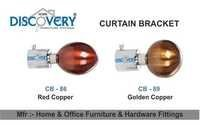 Red Copper Cartain Bracket