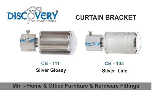 Silver Cartain Bracket