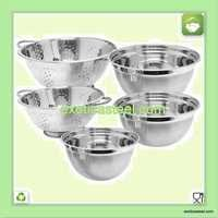 Stainless Steel Colander Bowl