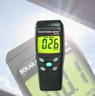 Solar Power Meter