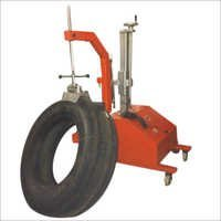 Mobile Trolley Mounted Truck & Tractor Tyre Spotte