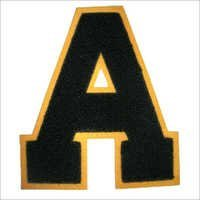 Single Letter Patch