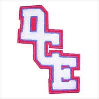 3 Letter Interlocking Chenille Monogram