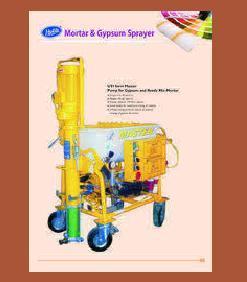 Gypsum Plaster Spray Machine