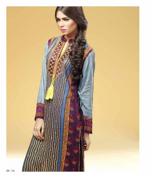 Cotton Embriodered Printed Kurti