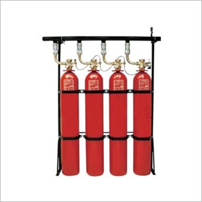El gas basó el sistema de la supresión del fuego