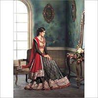 Black Designer Lehenga Choli