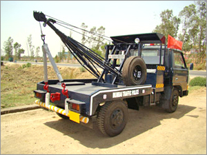Recovery Crane Rental Services