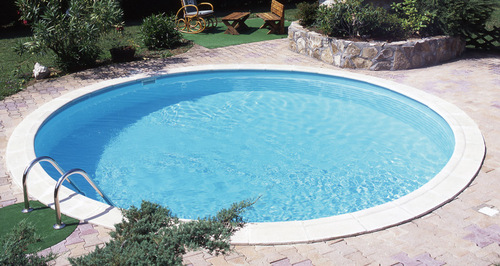 Round Shape Swimming Pool