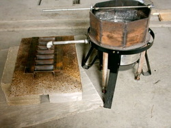 Plumbers Metal Melting Pot