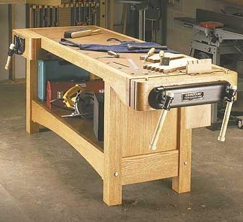 Working Bench 2400-X-1200-X-750-Mm-With-4-Ices-125
