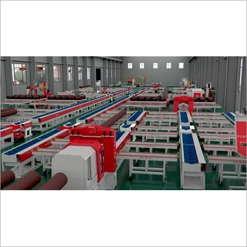 Fixed Type Pipe Fabrication Line