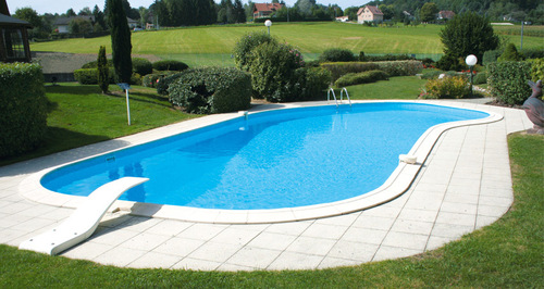 Farmhouse Outdoor Swimming Pool