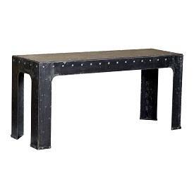 Iron Rivet Console Table