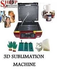 Vacuum 3D Sublimation Machine