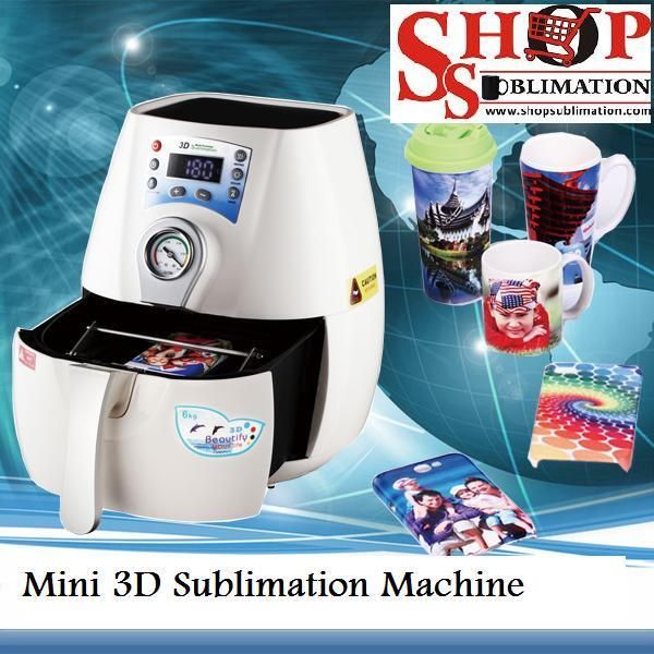 Mini 3D Sublimation Machine