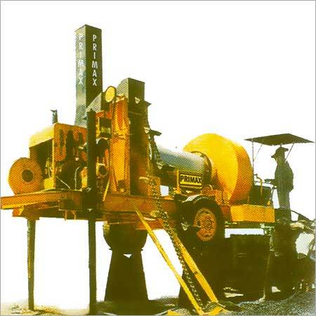 Mobile Hot Mix Plant (Pugmill System)