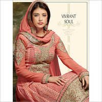 Light Blush Karachi Work Suit