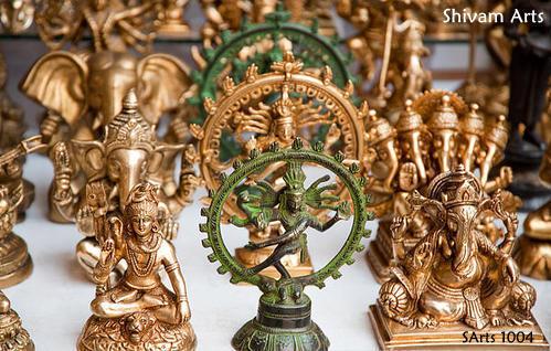 Brass Indian GOD & Sculpture