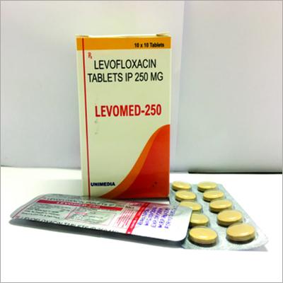 Levofloxacin 250mg Tablet IP(LEVOMED-250)