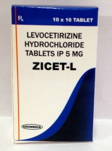 Levocetirizine 5 mg Tablets IP