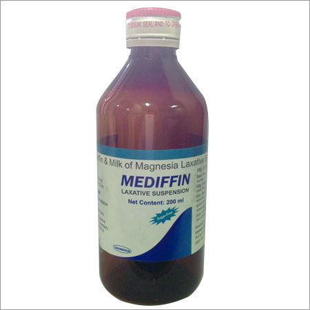 Liquid Paraffin+ Milk of Magnesia