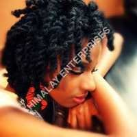 Brazilian spiral curly hair